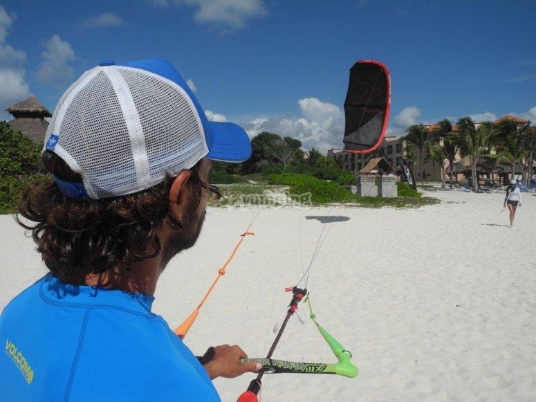 kite dans le salento