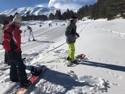 Scuola Sci Linguaglossa Snowboard