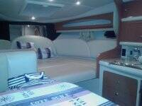 Interior of ENJOY 1, cabin. with 5 beds!