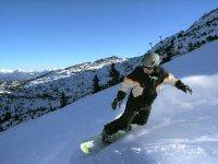 I professionisti di snowboard