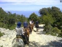 Escursione verso la montagna