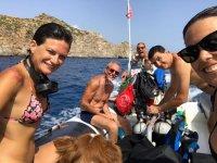 boat excursion in Sicily