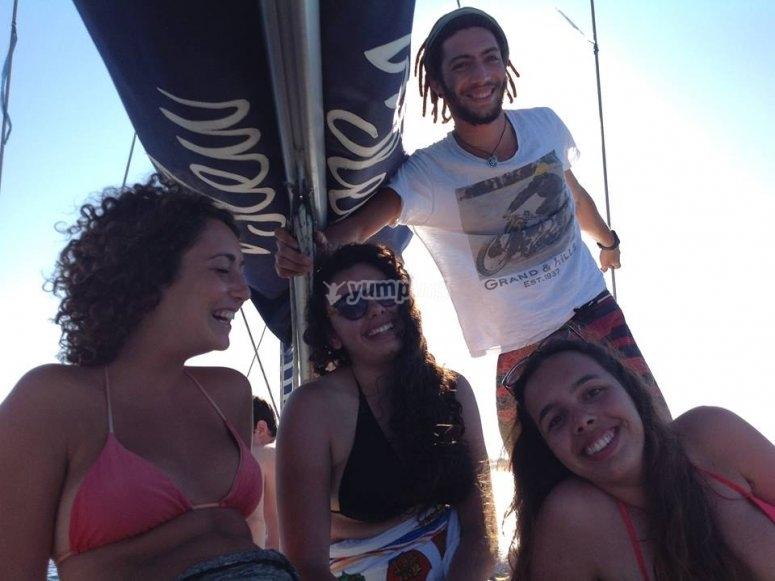 Escursione in barca in compagnia
