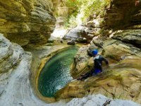 Canyoning Easy in Riviera Ligure Rio S. Lucia
