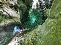 Canyoning principianti in Liguria Rio Argentina