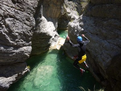 Giornata di Canyoning in Riviera Ligure