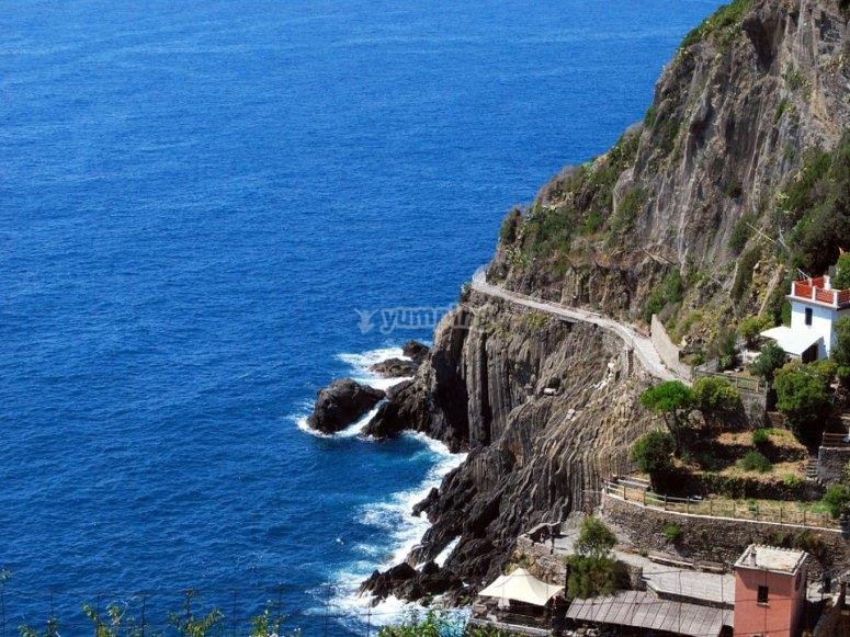 Il mare della Liguria