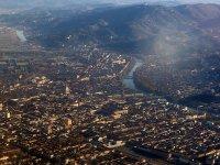 vista aerea su Torino
