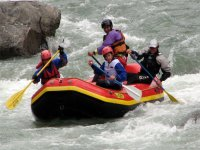 Rafting sul fiume Limentra