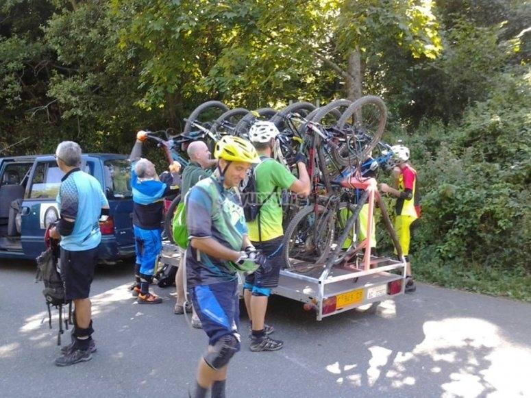 Trasporto bicicletta