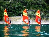 Lezione di windsurf