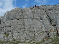 Fine dell'arrampicata