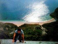 Arrampicata con il mare