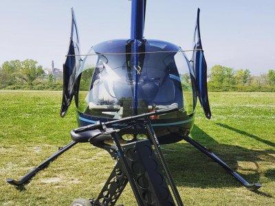 Volo in elicottero 30 min. aereoporto Valbrembo