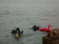 Avvicinamento punto immersione