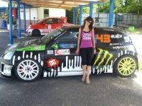 Una delle nostre auto da rally