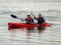 amici in canoa