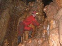 speleologo a lavoro!