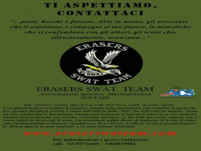 Erasers Swat Team ASD