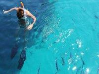 Un tuffo in mare
