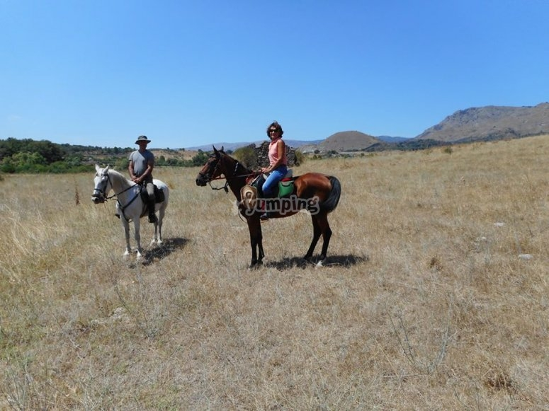 In sella ai nostri splendidi cavalli
