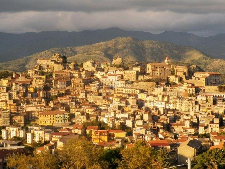 Vista panoramica Castiglione di Sicilia