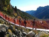 Sul ponte tibetano