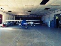 A riposo nell hangar