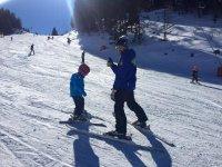 Primi assaggi di sci