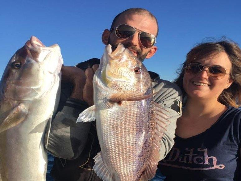 Pesca in coppia