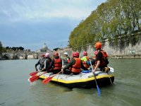 Rafting in the Tiber