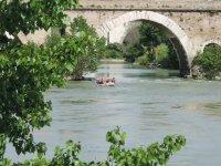 Under the Ponte Milivio
