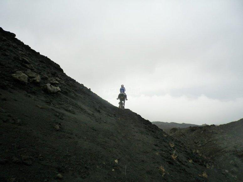 Discesa lava