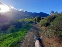 Horse ride to Geraci Siculo 3 hours