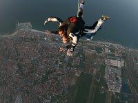 Lancio paracadute tandem con videoripresa in DVD