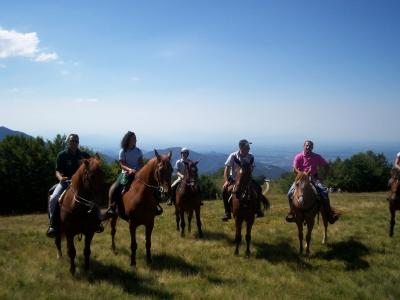 Passeggiata a cavallo alle Cinque Terre un giorno