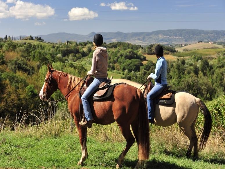 Escursione a cavallo per due