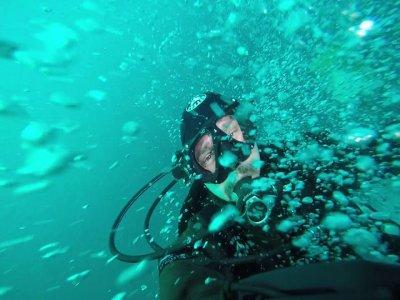 Battesimo sub a Mondello (3 inmersione)