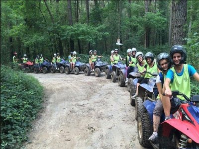 Tour in quad di coppia a Pocapaglia con brunch