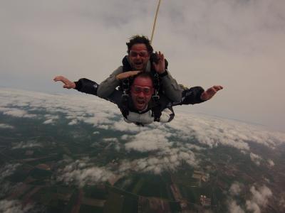 Lancio in Paracadute biposto Lavello