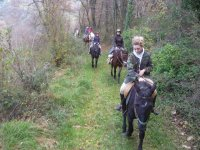 1.30h horseback ride Castel Madama - Rome