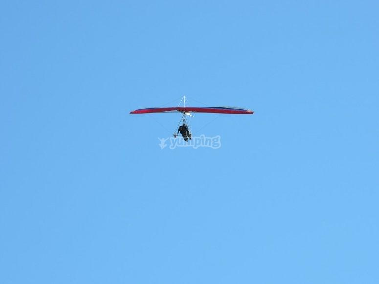 Deltaplano in volo