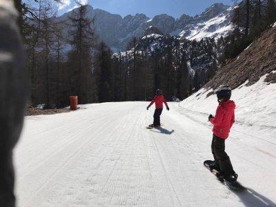 Scuola di Sci Be Free Cortina Snowboard