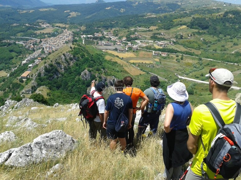Panorama da Monte Giano