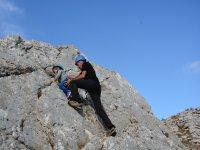 Bouldering su roccia