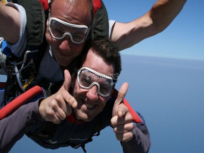 Salto tandem in paracadute