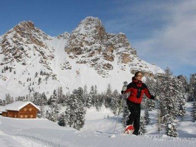 San Vigilio Dolomites Ciaspole