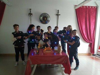 Festa di compleanno al Laser Tag di Savigliano