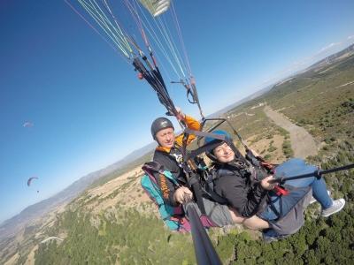 Volo in Parapendio biposto + foto in Sardegna