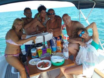 Mini crociera in barca a vela da Cesenatico